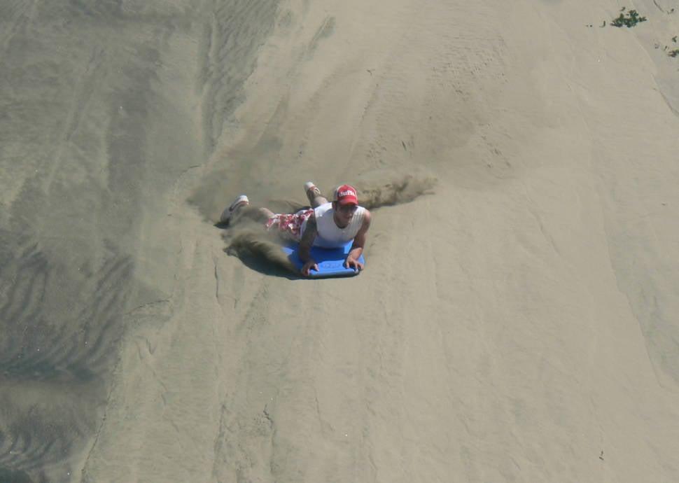 Sandboarding in Sigatoka in Fiji - Best Season