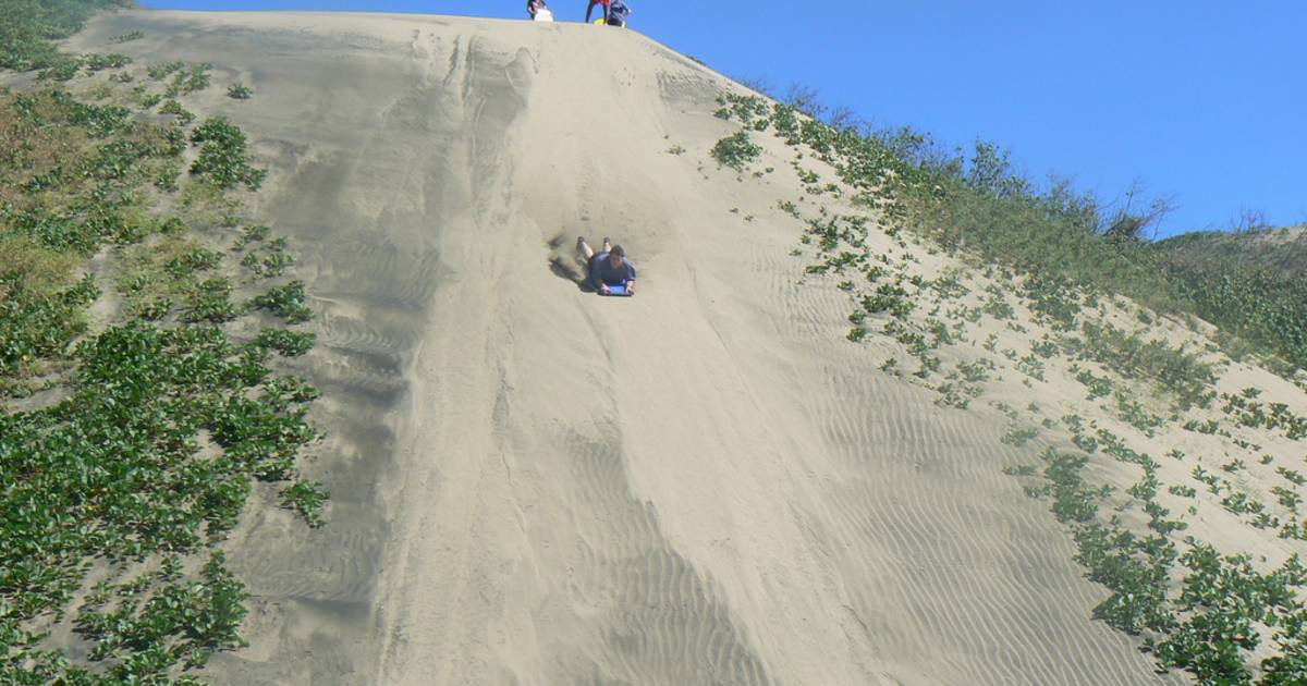 Sandboarding in Sigatoka in Fiji - Best Time