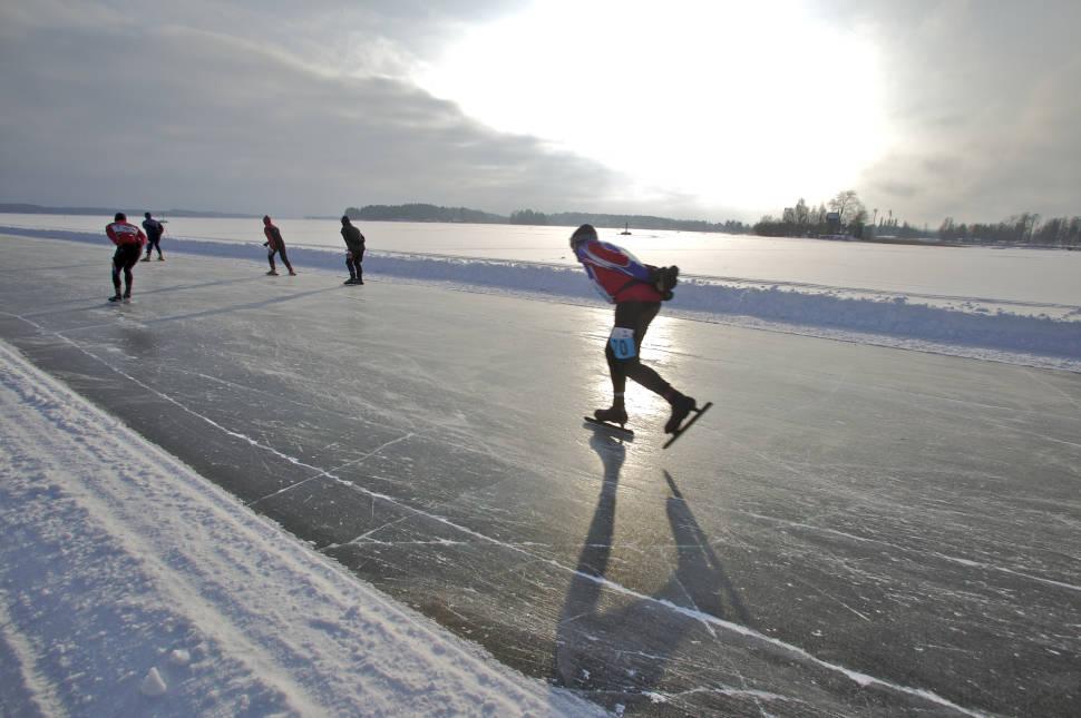 Best time for Finland Ice Marathon in Finland