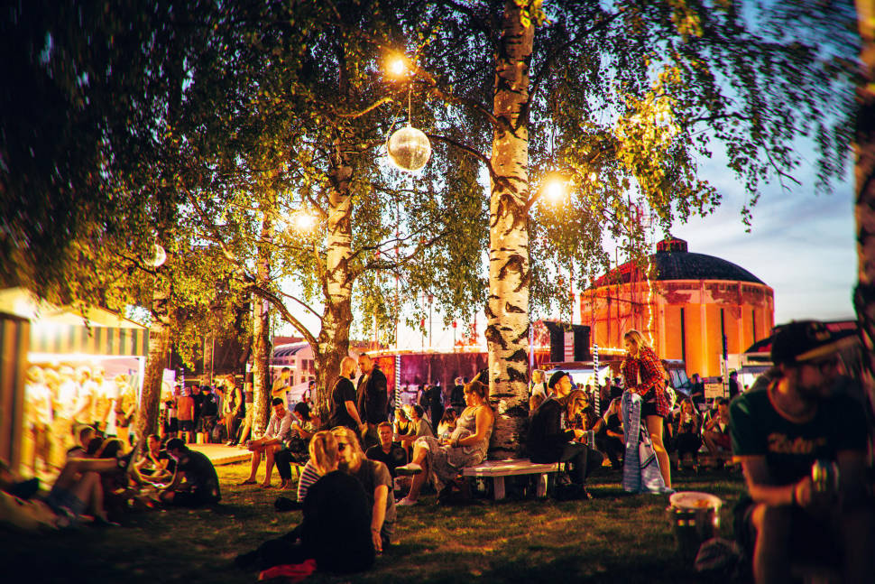 Best time for Flow Festival in Finland