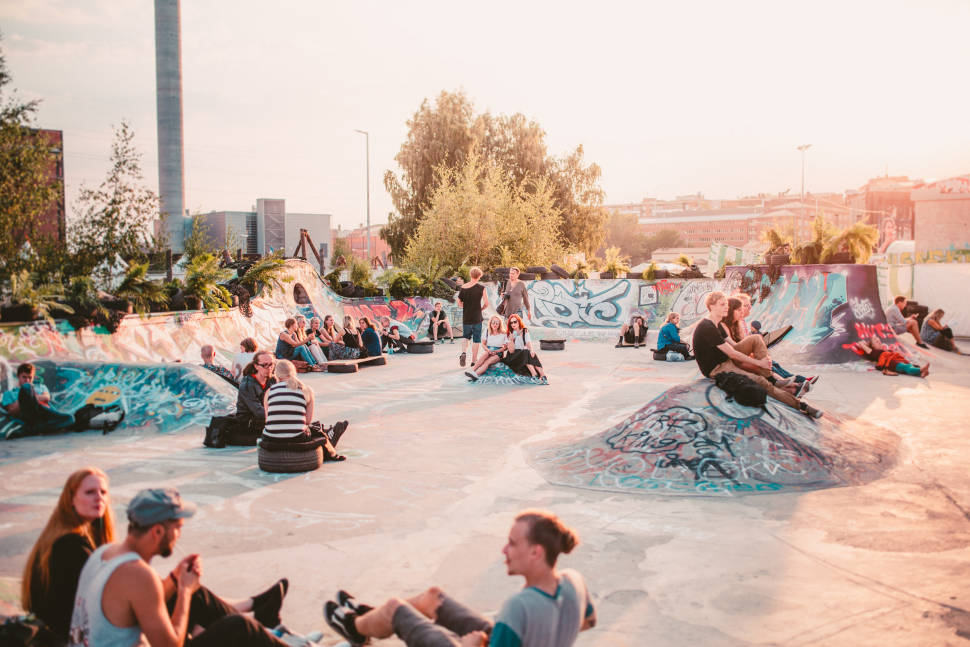 Best time to see Flow Festival in Finland