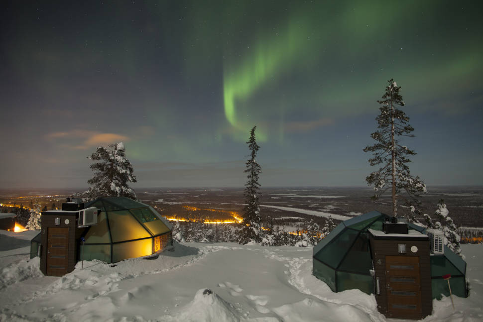 Stay in the Glass Igloo in Finland - Best Season