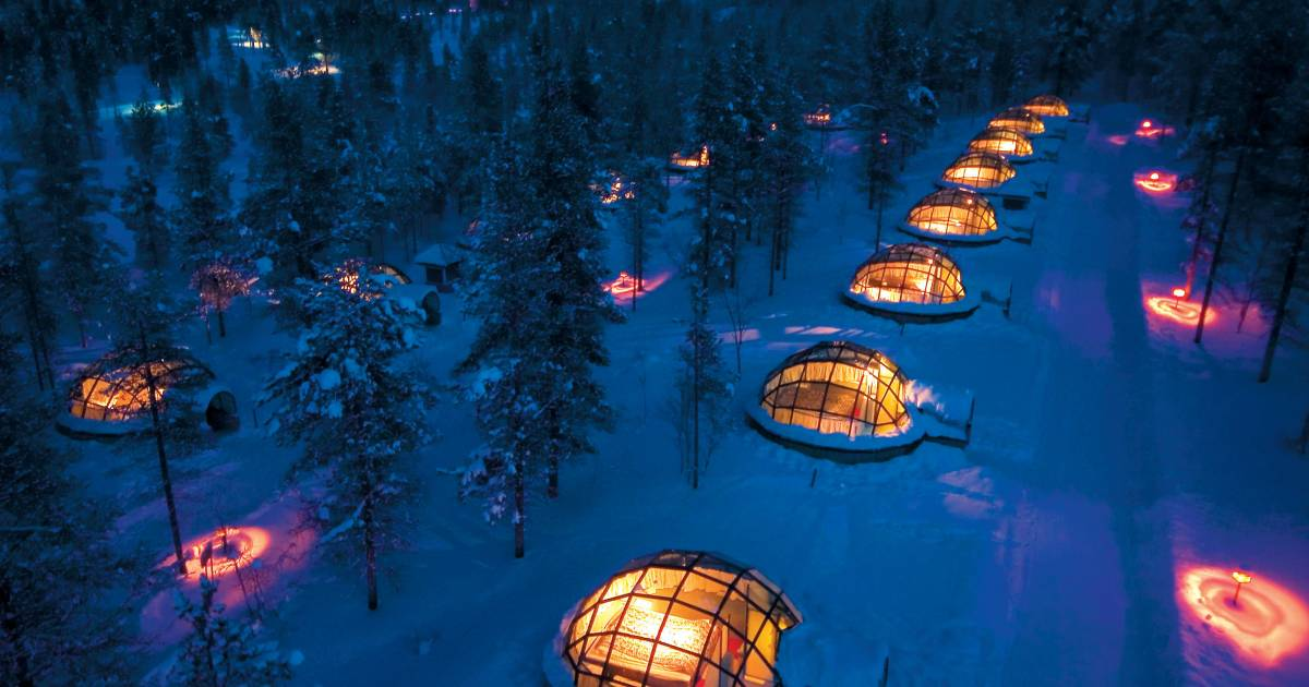 Stay in the Glass Igloo in Finland - Best Time