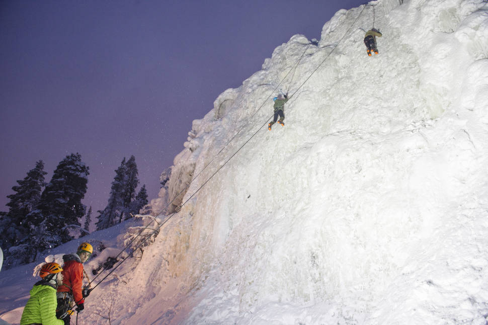 Best time for Ice Climbing in Finland