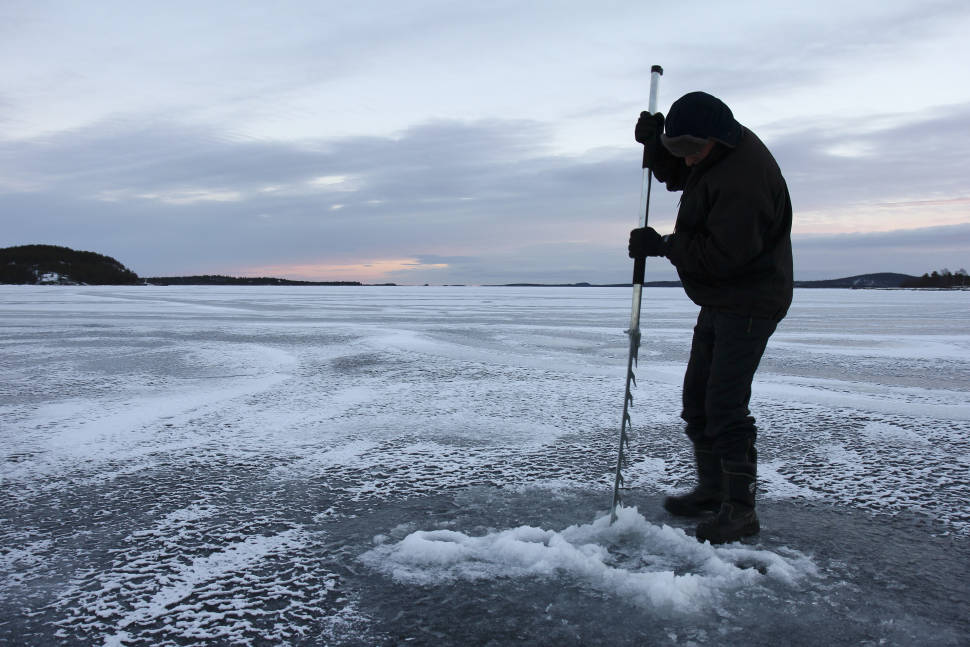 Best time to see Ice Fishing in Finland