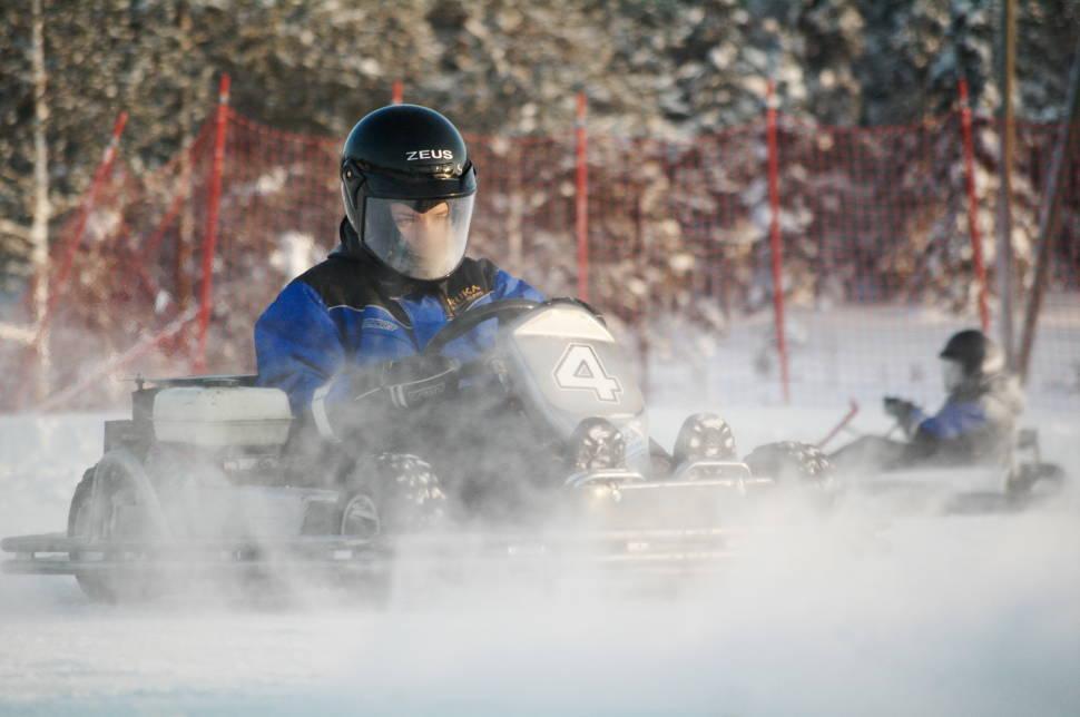 Ice Karting in Finland - Best Season