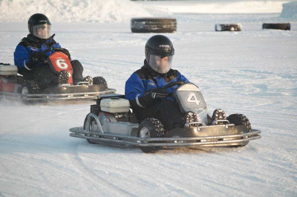 Ice Karting in Finland - Best Time