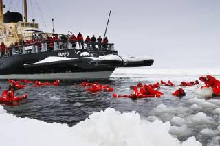 Icebreaker Cruise and Ice Floating