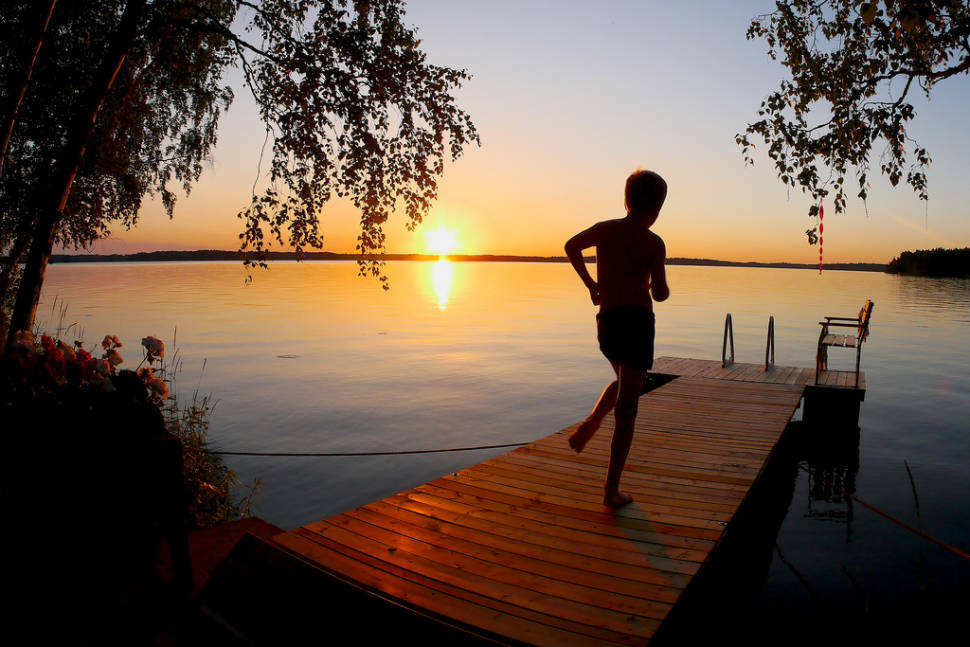 Best time for Juhannus (Midsummer) in Finland