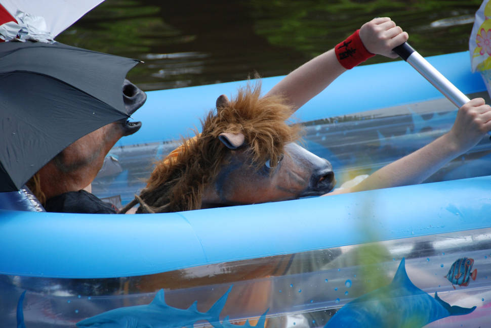Best time for Kaljakellunta or Beer Floating in Finland