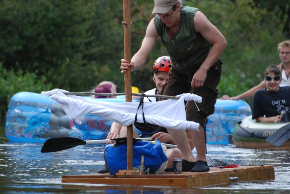 Kaljakellunta or Beer Floating in Finland - Best Season