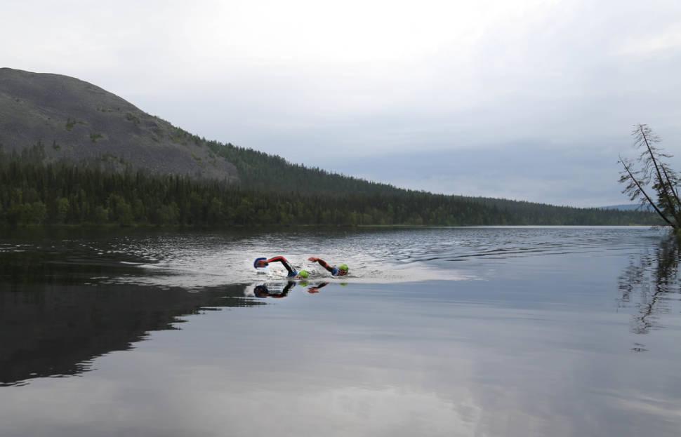 Best time for Midnight Sun Swimrun in Finland