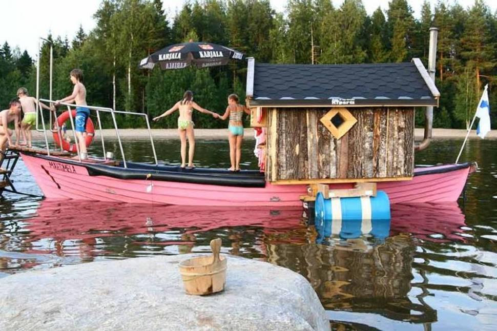 Mobile Sauna Festival in Teuva in Finland - Best Season