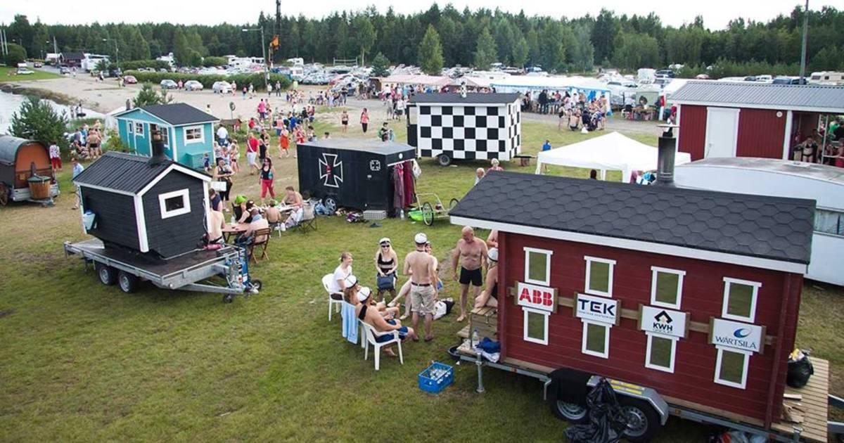 Mobile Sauna Festival in Teuva in Finland - Best Time