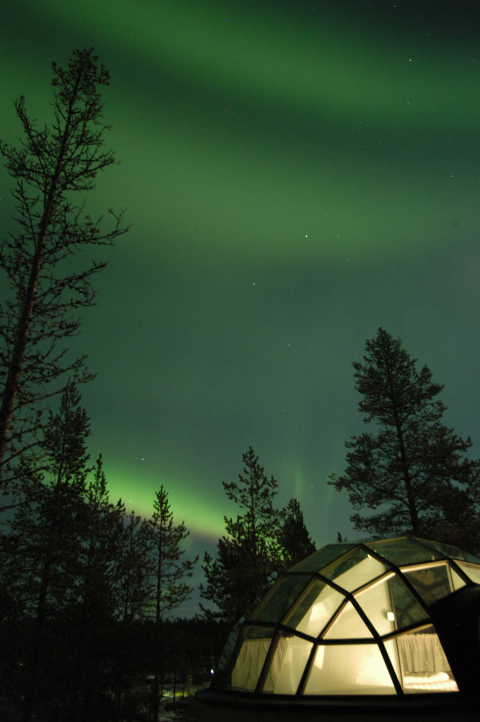 Best time to see Northern Lights in Finland