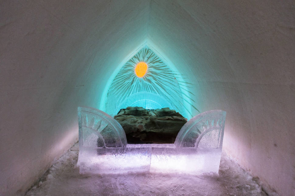 Snow & Ice Architecture in Finland - Best Season