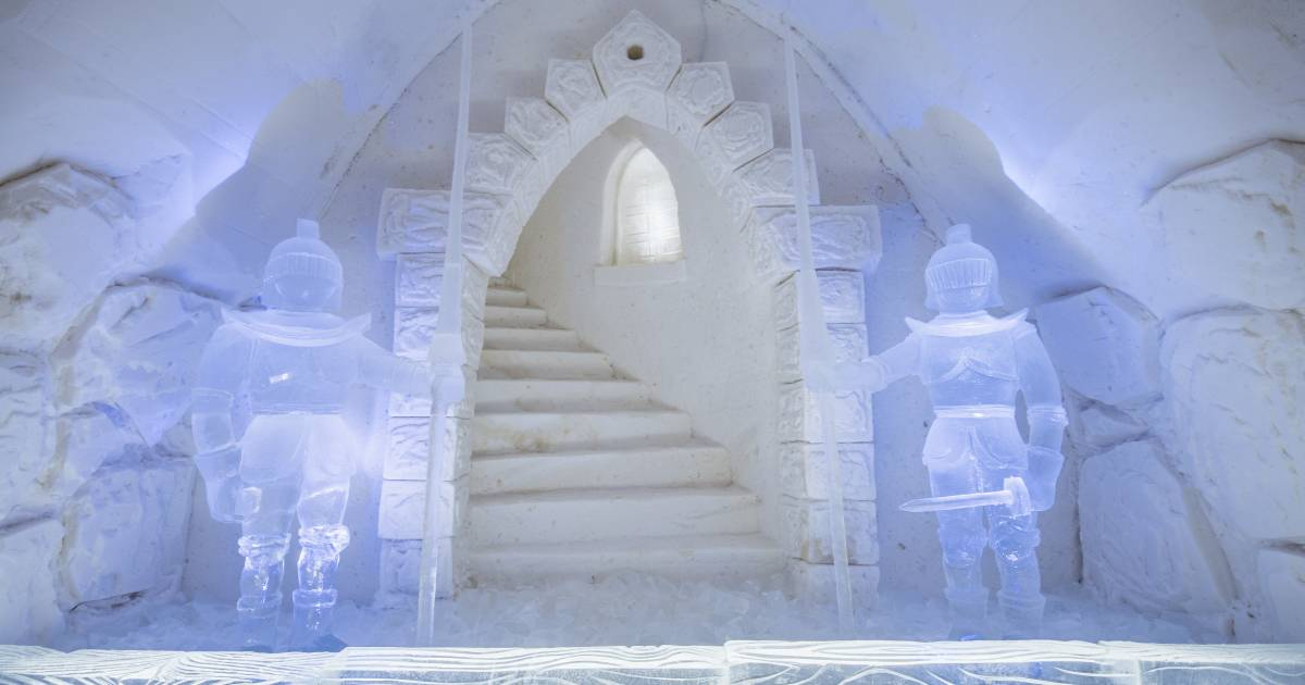 Snow & Ice Architecture in Finland - Best Time