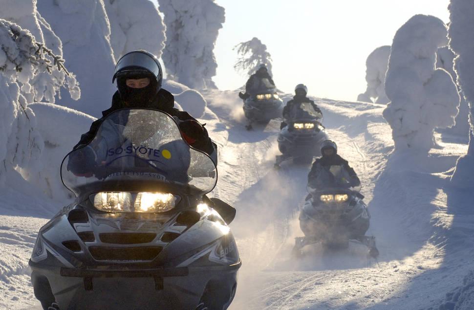 Snowmobiling in Finland - Best Season