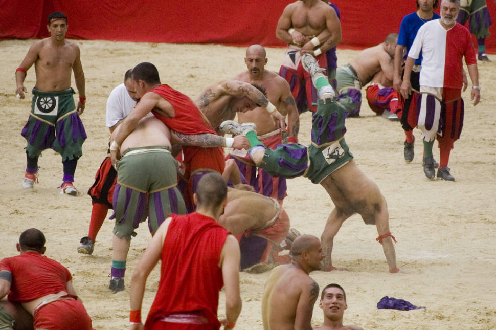 Best time for Calcio Storico in Florence