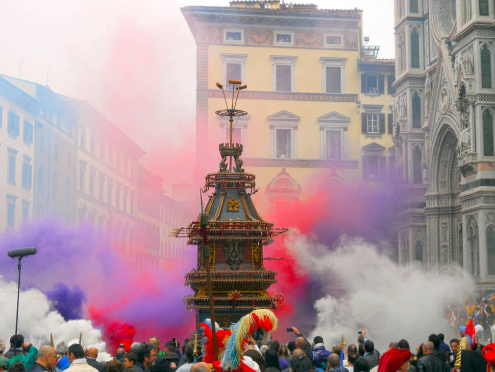 Easter Explosion of the Cart in Florence - Best Season