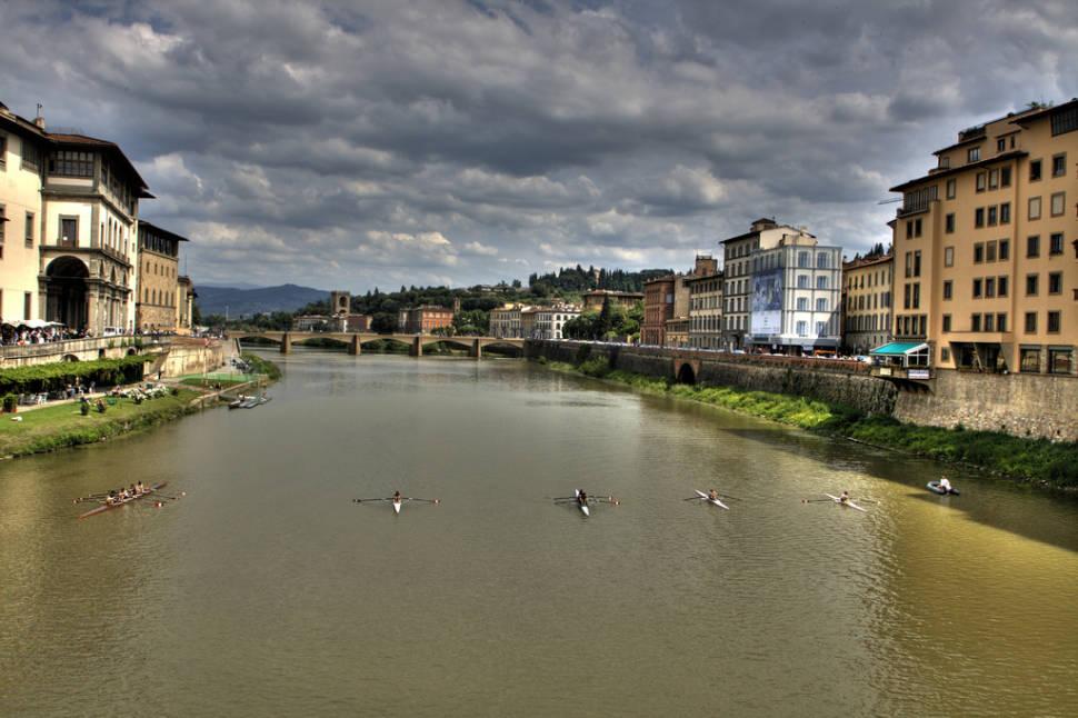 Rowing in Florence - Best Season