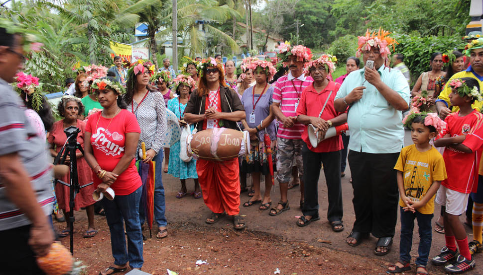 Best time to see Sao Joao Festival in Goa