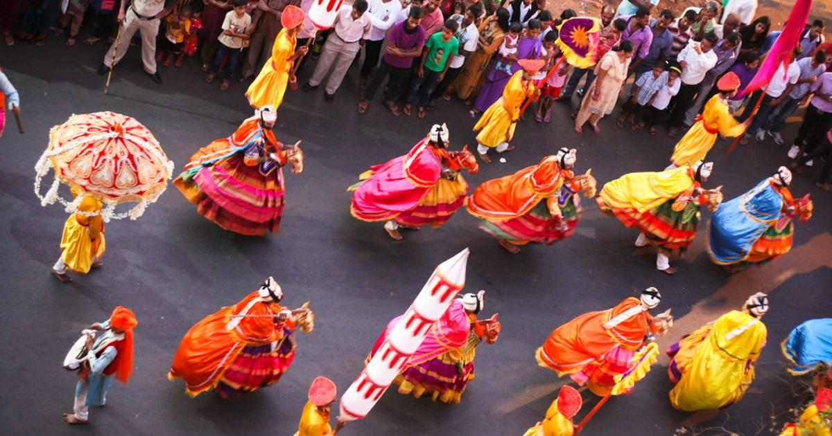 Shigmo in Goa - Best Time
