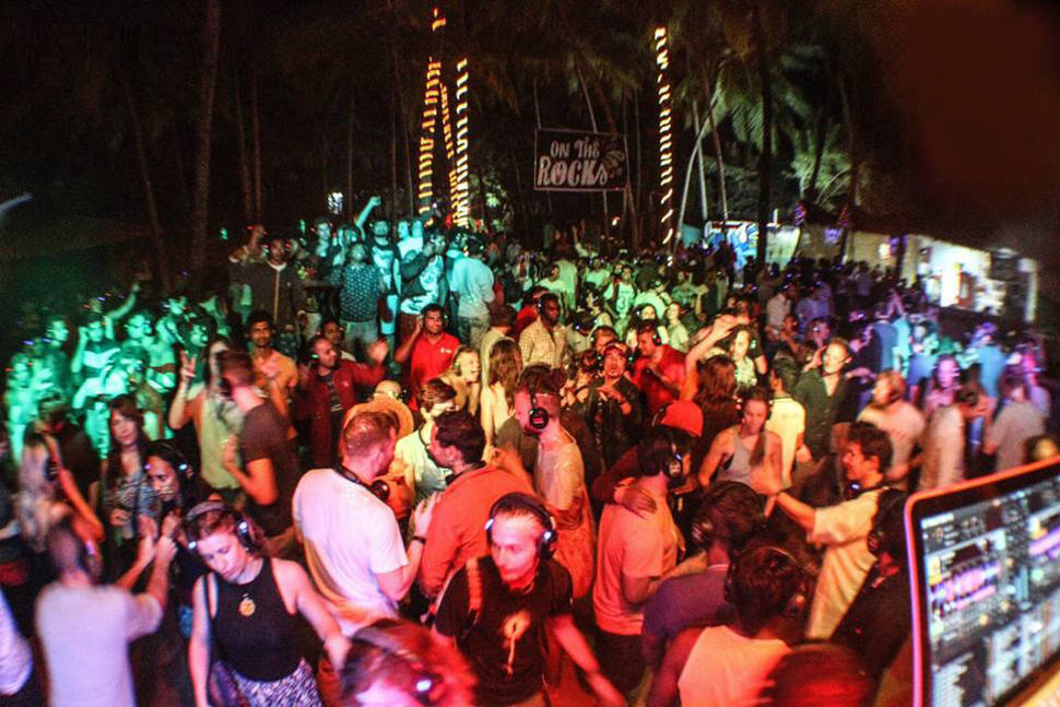 Silent Noise Party in Goa - Best Time