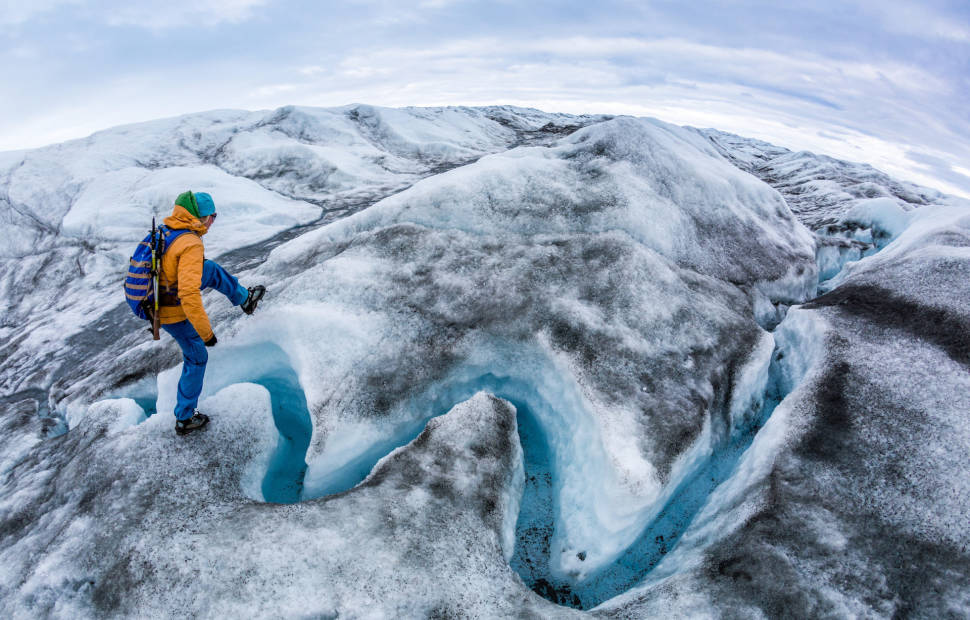 Greenland Ice Sheet in Greenland - Best Time
