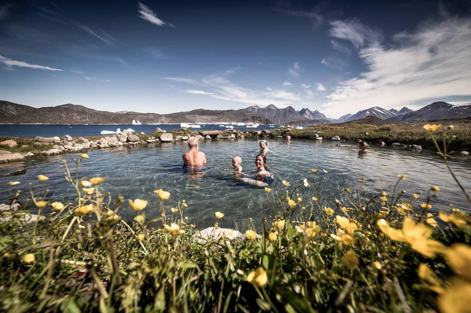 Hot Springs in Greenland - Best Season