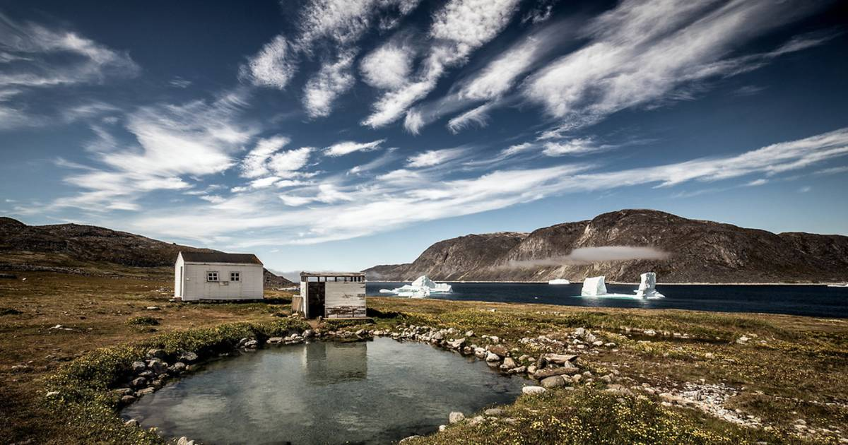 Hot Springs in Greenland - Best Time