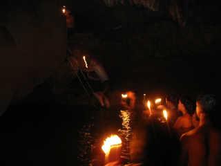 Candlelit Caving