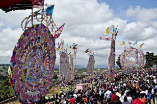 Festival de Barriletes Gigantes or Day of the Dead Kite Festival