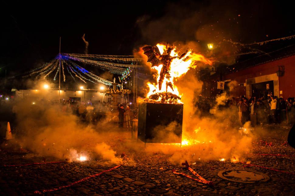 Quema del Diablo or Burning the Devil in Guatemala - Best Time