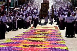 Semana Santa (Holy Week) in Antigua