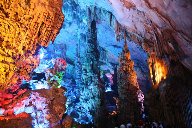 Best time to see Reed Flute Cave in Guilin
