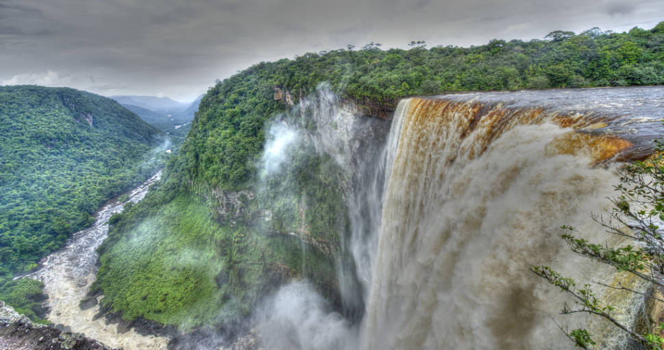 Best time for Kaieteur Falls in Guyana