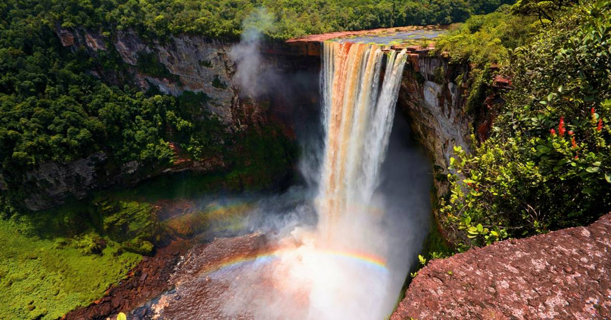 Kaieteur Falls in Guyana - Best Time
