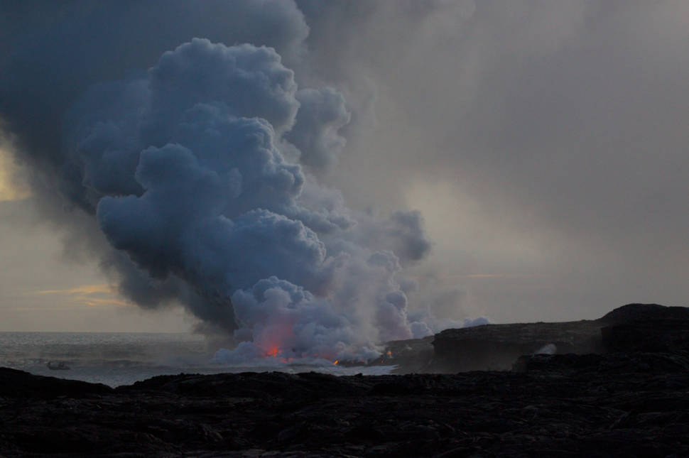 Best time for Hawaii Volcanoes National Park
