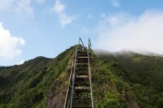Moanalua Valley Trail to Haiku Stairs