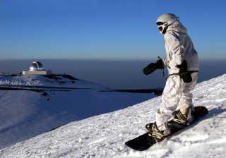 Skiing and Snowboarding Mauna Kea