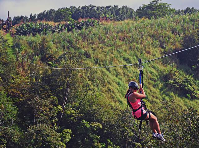 Ziplining in Hawaii - Best Season