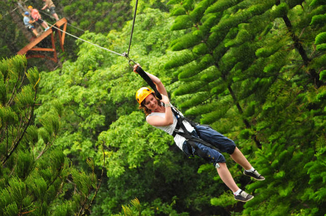 Ziplining in Hawaii - Best Time