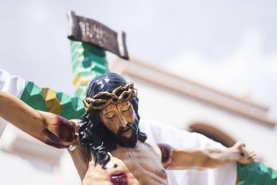 Crucified Jesus in Valle de Ángeles, Honduras