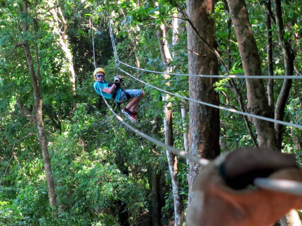 Ziplining on Roatán in Honduras - Best Time