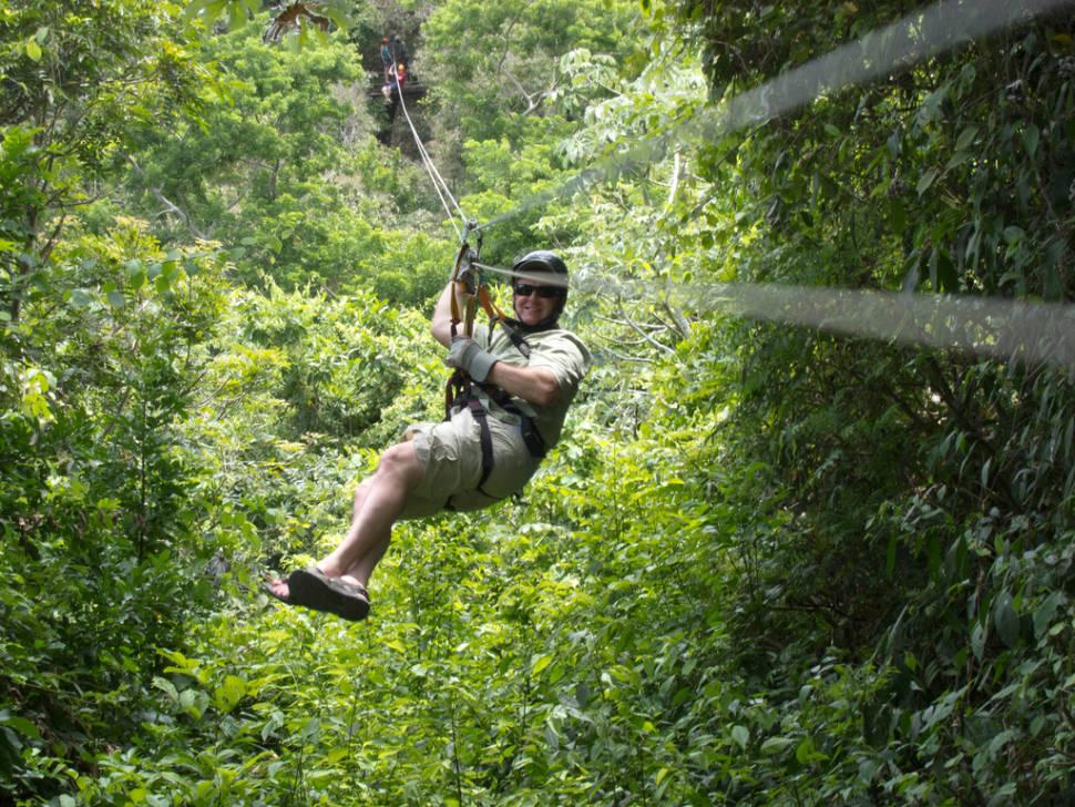 Ziplining on Roatán in Honduras - Best Season