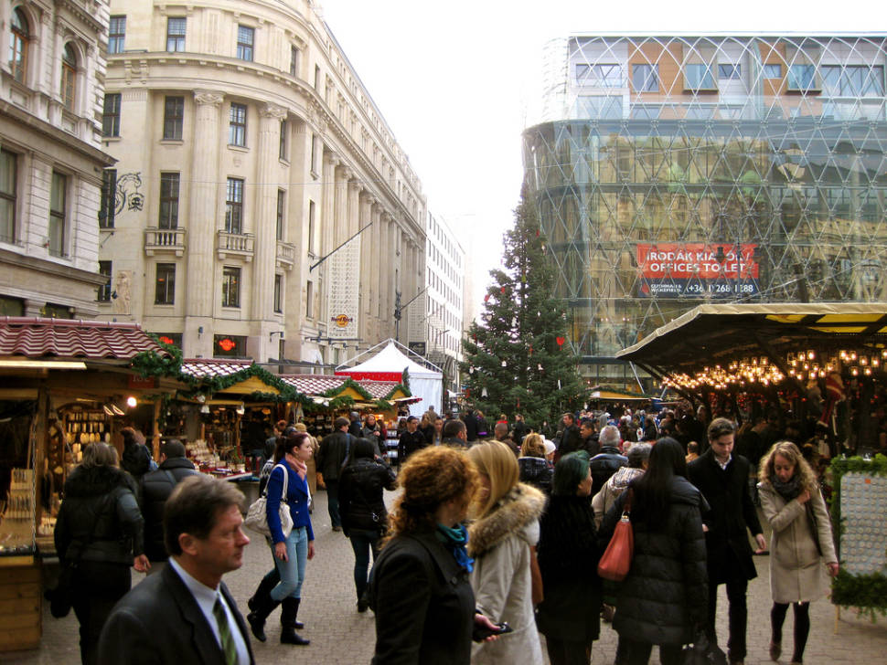 Best time to see Budapest Christmas Market in Hungary