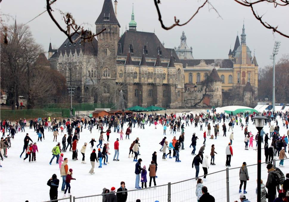 City Park Ice Rink in Hungary - Best Season