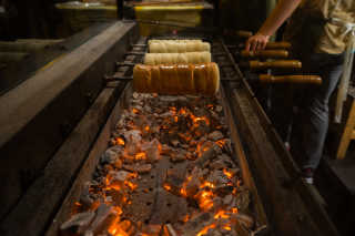 Kürtőskalács or Sekler Cake Festival