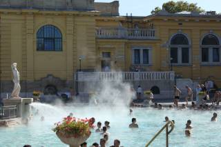 Széchenyi Thermal Bath—Winter Warm-up